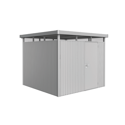 Biohort tuinhuis 'HighLine H4' staal zilver metallic 6,35 m²