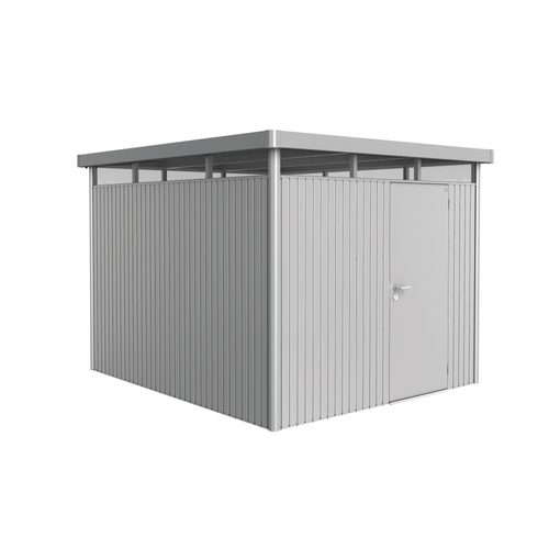 Biohort tuinhuis 'HighLine H5' staal zilver metallic 7,36 m²