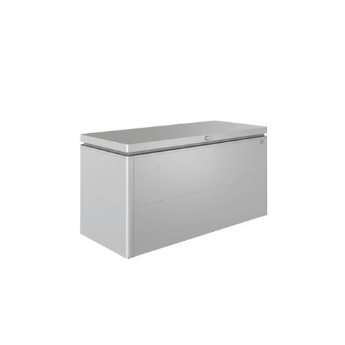 Biohort opbergbox Lounge 160 zilver metallic 160x83,5cm