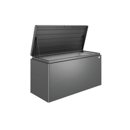 Biohort opbergbox Lounge 160 donkergrijs metallic 160x83,5cm