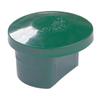 Capuchon pour poteau profilé Giardino vert Ø 48 mm