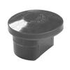 Capuchon pour poteau profilé Giardino gris Ø 48 mm