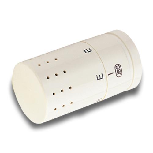Saninstal thermostaatkop 'M30 Design' wit