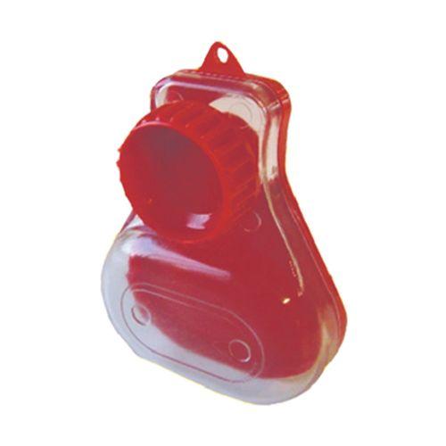 Sanistal purgeursleutel met opvangbakje kunststof
