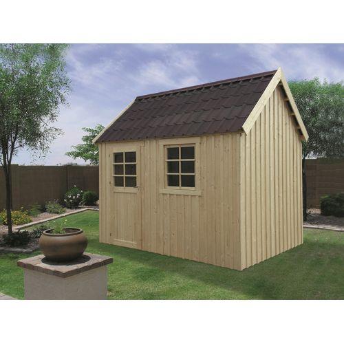 Solid tuinhuis Oleron hout 307x209cm