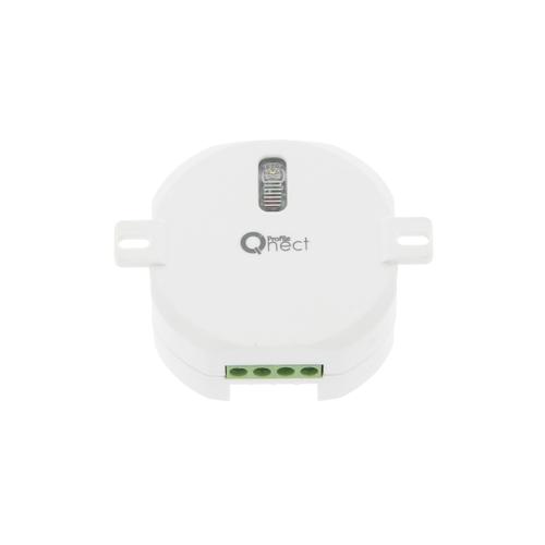 Récepteur RF à encastrer on/off Profile 'Qnect' plafond 1000 W blanc
