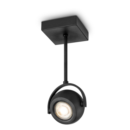 Home Sweet Home spot LED Nop zwart 24cm 5,8W