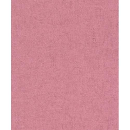 Vliesbehang 489873 mat roze beton