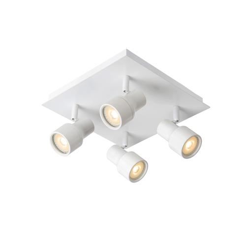 Lucide spotlamp 'Sirene-LED' wit 4x4,5W