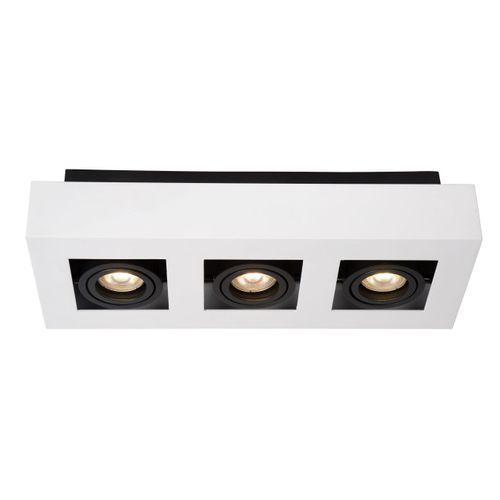 Lucide plafondlamp Xirax 3x5W wit