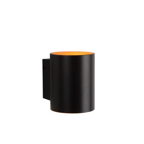 Lucide xera wandlamp ø 8 cm g9 zwart 1x42w