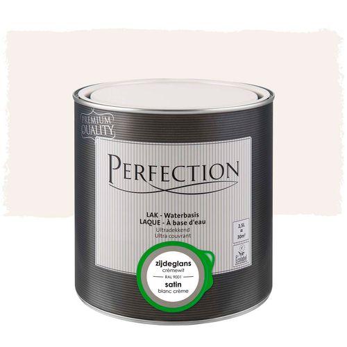 Laque Perfection utra couvrant satin blanc crème RAL 9001 2,5L