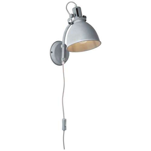Brilliant wandlamp Jesper betongrijs E27
