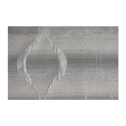 Rideau 'Lips' tamisant argent 135 x 260 cm