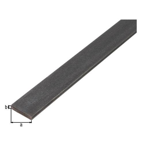 Profilé plat GAH Alberts acier laminé à chaud 1 m x 3,5 cm