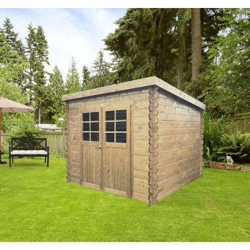 Solid tuinhuis Hof hout 6,15m² 248x248cm
