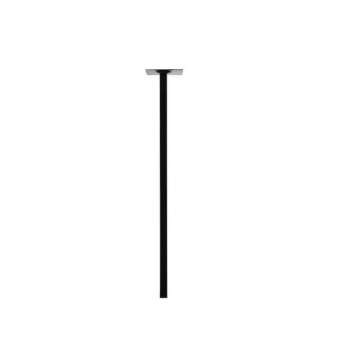 Duraline meubelpoot vierkant zwart 2,5x75cm