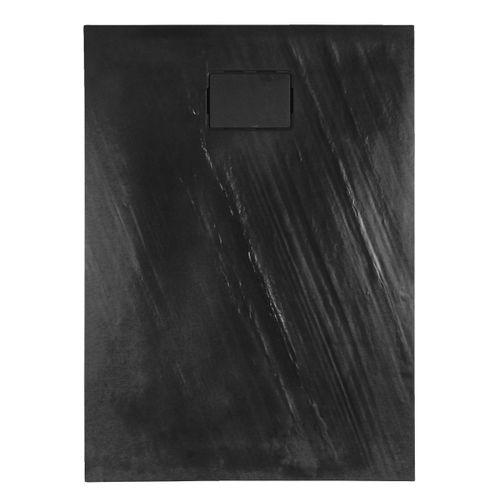 Allibert douchebak Rockstone rechthoekig 120x90cm donkergrijs mat
