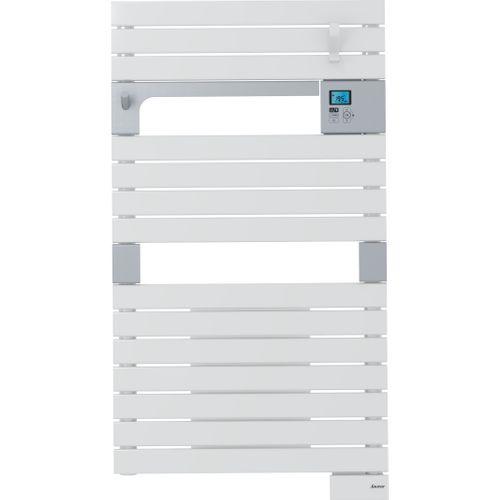 Radiateur sèche-serviettes électrique Sauter Asama Ventilo blanc 500+1000W