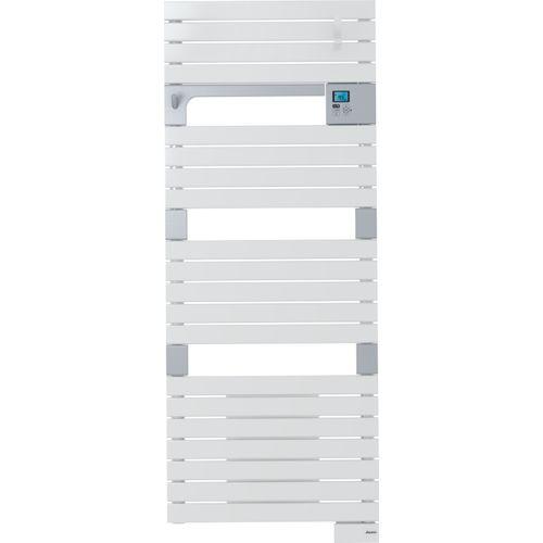 Radiateur sèche-serviettes électrique Sauter Asama Ventilo blanc 750+1000W
