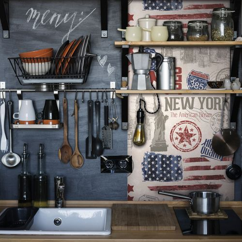 Transform film adhésif décoratif New york 67,5x200cm