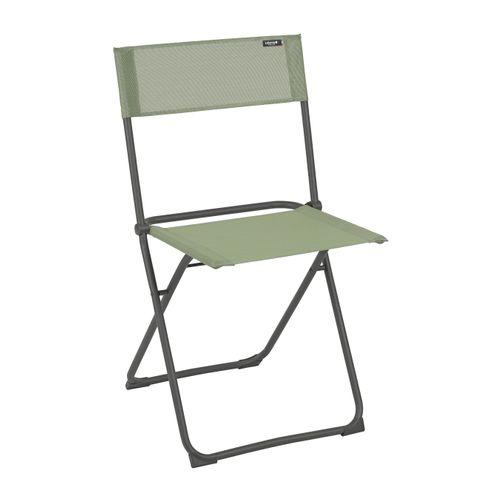 Chaise de jardin Lafuma Balcony pliable vert