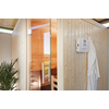 Module sauna Biohort 'CasaNova' ouverture de porte gauche