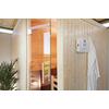 Module sauna Biohort 'CasaNova' ouverture de porte droite