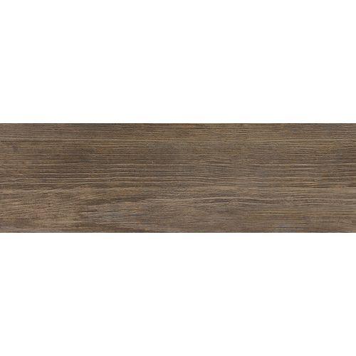 Carrelage sol Meissen Ceramics Finwood brun 18,5x60cm 1m²