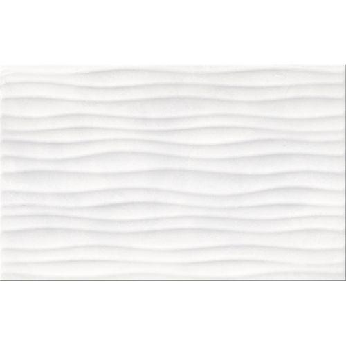Meissen Ceramics wandtegels Elle wit gestructureerd 25x40cm 1,2m²