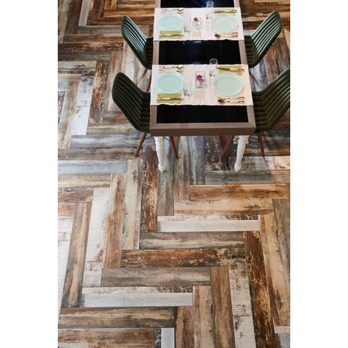 Vloertegel Wooden Color mix 15x90cm