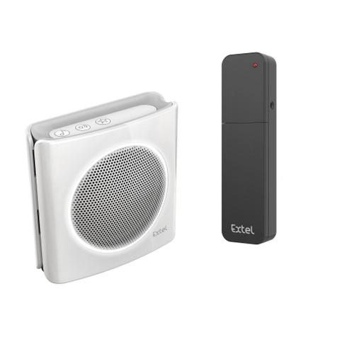 Sonnette sans fil Extel Dibi Plus + convertisseur