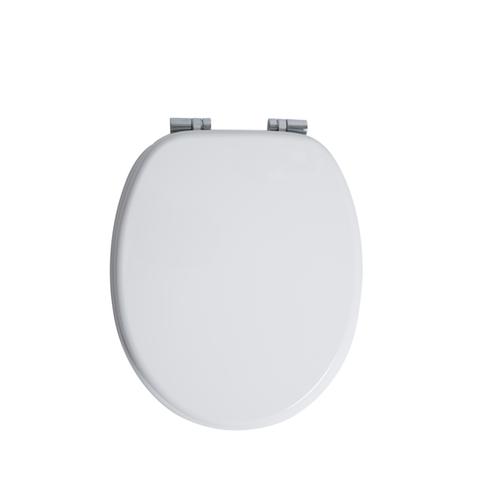 Abattant WC AquaVive Cannes blanc MDF Softclose
