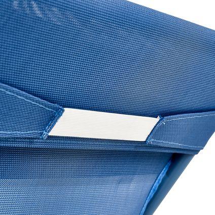 Central Park strandstoel Sevilla staal blauw