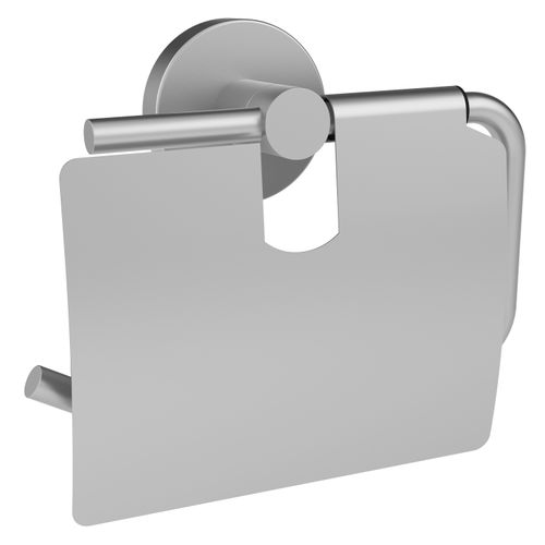 Allibert toiletrolhouder Coperblink met klep RVS geborsteld