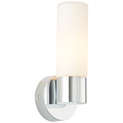 Aquavive wandlamp Paros chroom wit E14