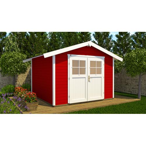 Weka tuinhuis 122 GR.3 rood 28mm 5,51m²