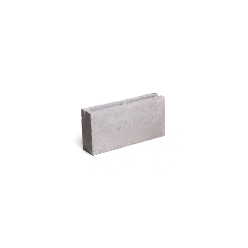 Coeck betonblok grijs hol 39x9x19cm