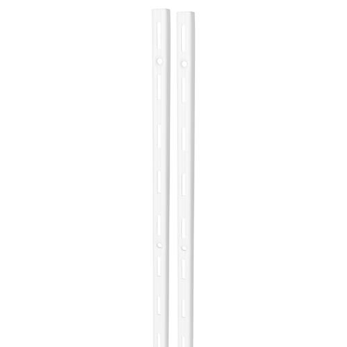 Duraline F-rail enkel wit 150 cm