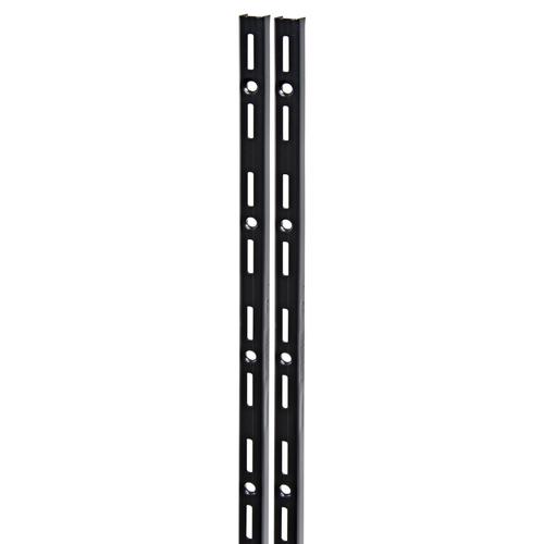 Duraline F-rail enkel zwart 100cm