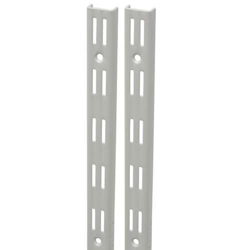 Duraline F-rail dubbel wit 50 cm