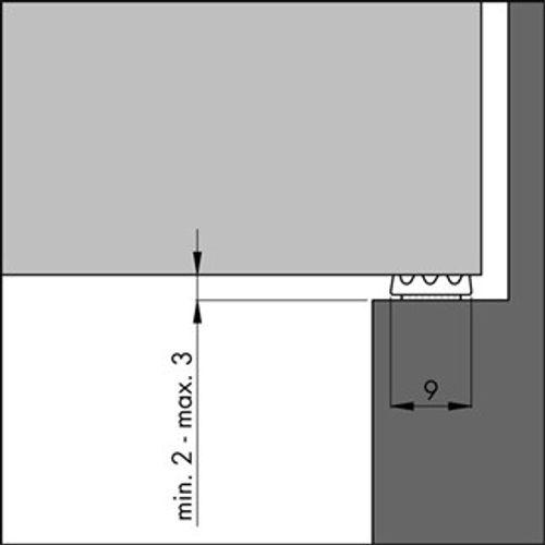 Ellen tochtafdicht wit 7,5m 9x3mm acryl ellenflex